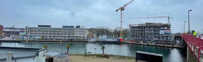 """Keine Wohnbebauung im """"Hafenquartier Speicherstraße"""": Bürger*innendialog informiert über Stand des Bauprojekts"""