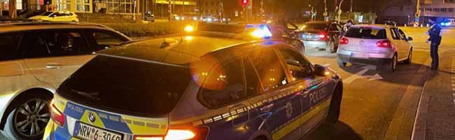 """""""Eventmeile Wallring"""": Polizei kontrolliert 750 Fahrzeuge aus ganz NRW in Dortmund und stellt 14 von ihnen sicher"""