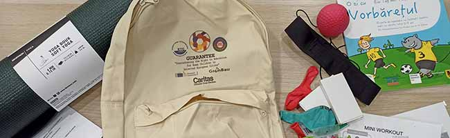 Angebot für Kinder im Nordmarkt-Quartier: Ein Rucksack gegen Lockdown-Langeweile und für mehr Bewegung