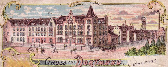 Siedlung Kaiserstuhl mit Restaurant (Sammlung Klaus Winter)