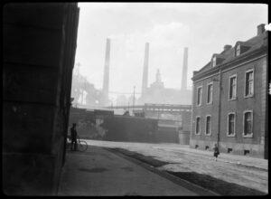 In der Siedlung, Foto Erich Grisar (Stadtarchiv, Bestand 502-37)