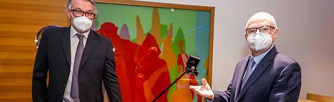Wichtiger Botschafter für die Stadt: Dortmunder Kaufleute ehren Heinz-Herbert Dustmann mit dem City-Ring 2021