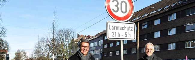 Zusätzliche Maßnahmen gegen die Raser-Szene: Ab Samstag gilt nachts Tempo 30 auf dem Wallring  in Dortmund