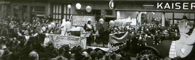 Dortmund Helau: Rosenmontagszug anno 1954