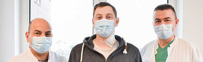 Ungewöhnlicher Fall im Lungenkrebszentrum am Klinikum: Komplizierter Eingriff rettet jungem Mann das Leben