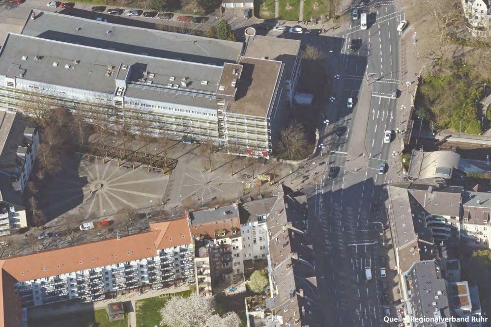 Luftbild Möllerbrücke und Sonnenplatz