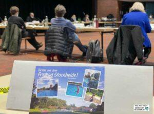 Die Nordstadt-BV sprach sich fraktionsübergreifend für den Weiterbetrieb des Freibads Stockheide aus. Foto: Alex Völkel