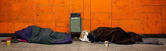 Hotel für Obdachlose: Stadt finanziert private Initiative, obwohl es ihrer Meinung nach ausreichende Angebote gibt