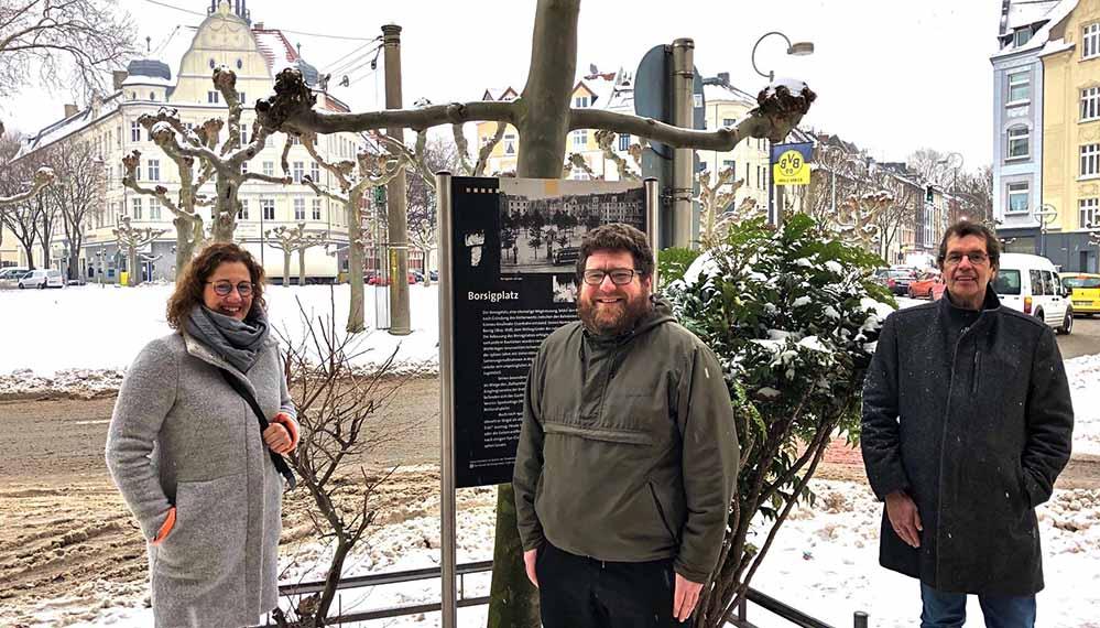 Jana Heger, Till Blackstein und Martin Gansau. Foto: QM Nordstadt