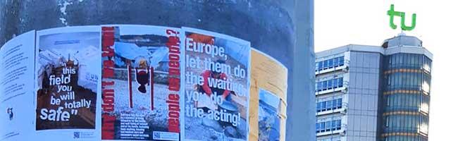 """""""Now you see me Moria"""": Motive aus dem Flüchtlingslager gegen das Vergessen auf dem Campus der TU Dortmund"""