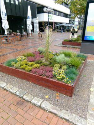 Die Stadt möchte mehr Grün in die City bringen. Dafür sind auch temporäre bzw. mobile Pflanzkübel vorgesehen.