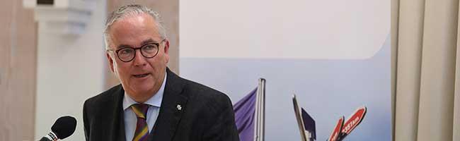 Präsident der Auslandsgesellschaft feiert 60. Geburtstag – Dortmund gratuliert Klaus Wegener