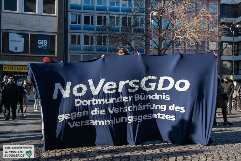 Gegen das geplante Polizeigesetz hat sich ein Bündnis formiert. Foto: Leopold Achilles