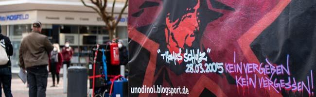 Rechtsextreme Gewalt in Dortmund: Auch 16 Jahre nach dem Mord an Thomas Schulz gedenken ihm Antifaschist*innen