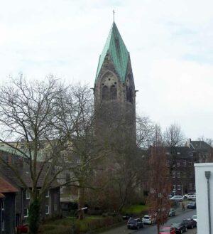 Die Lutherkirche an der Hirtenstraße kann nicht weiter bewirtschaftet werden. Foto: Susanne Schulte