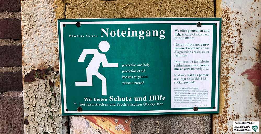 Noteingang bei Rassismus - mittlerweile gibt es drei Hilfsangebote. Foto: Alex Völkel