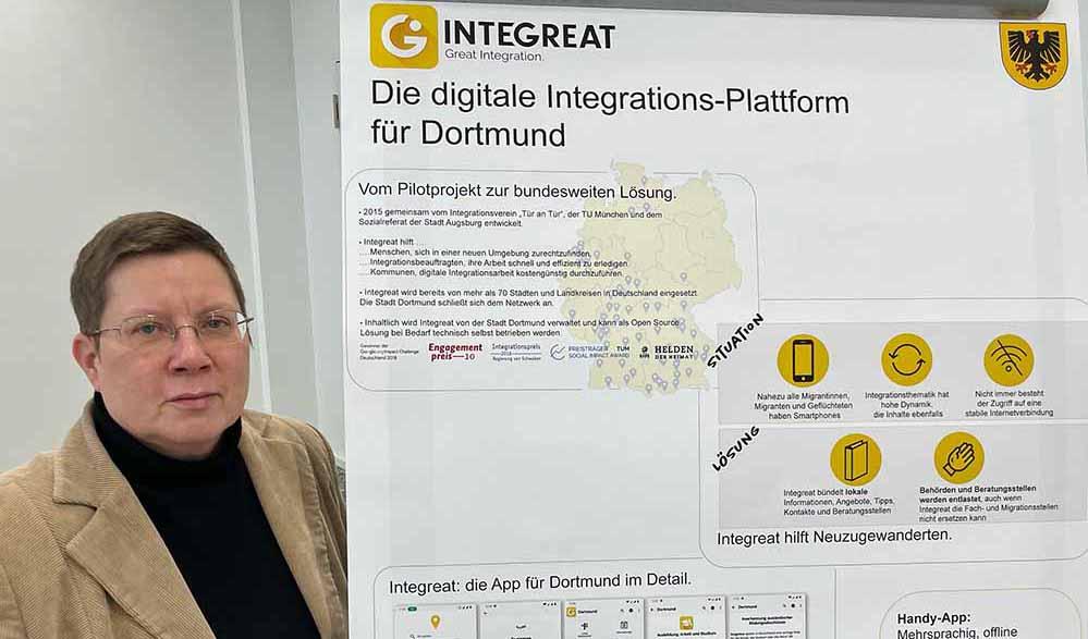 Sozialdezernentin Birgit Zoerner stellte das neue Angebot vor. Foto: Alex Völkel