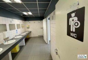 Die sanitären Anlagen des FZW stehen den Obdachlosen auch zur Verfügung - eine echte Entlastung.