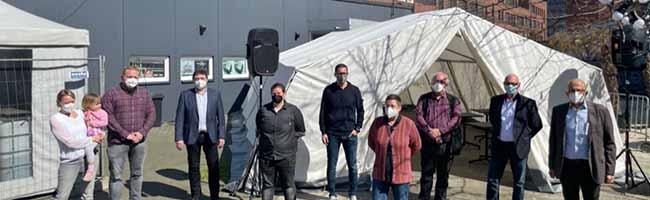 Versorgungsangebot für Obdachlose anstatt Konzerte und Partys: Corona-Hilfe ist ab sofort im Freizeitzentrum West