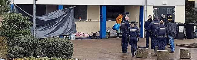 Nordstadt: Platzverweise gegen Obdachlose – FABIDO-Kita fühlt sich durch ein Schlaflager an der Sporthalle Nord gestört