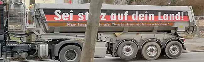 Baufirma aus Kamen polarisiert mit rechtspopulistischen Botschaften auf Kita- und Schulbaustelle in der Nordstadt