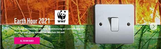"""Licht aus gegen den Klimawandel – Auch in diesem Jahr breites Engagement in Dortmund zur """"WWF Earth Hour"""""""