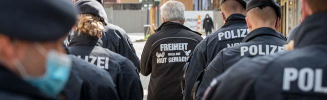 """""""Querdenker"""" versuchten das Versammlungsverbot in Dortmund zu umgehen – und blieben erfolglos"""