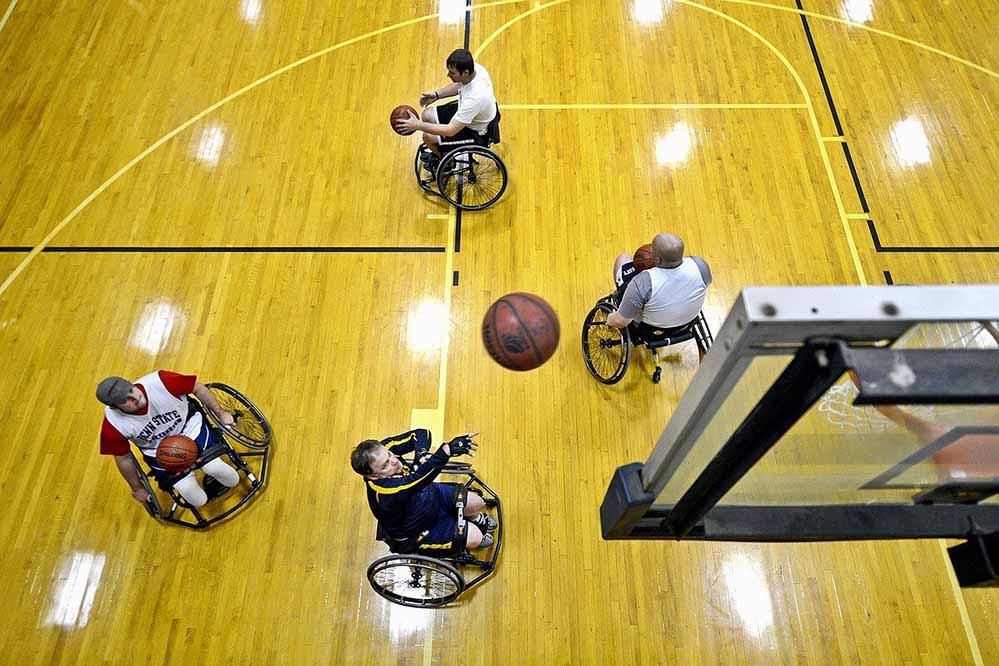Wer eine barrierefreie Sporthalle plant, sollte auch das Umfeld berücksichtigen. Foto: Pixabay