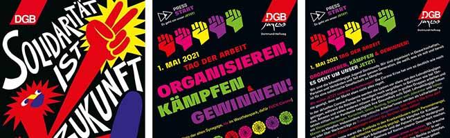Der DGB will den 1. Mai trotz Corona in Dortmund auf der Straße abhalten – aber nur in deutlich abgespeckter Form