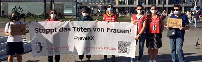 Nach Austritt aus der Istanbul-Konvention: Aktionsgruppe Dortmund setzt ein Zeichen gegen Gewalt an Frauen