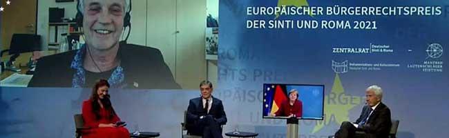 """Soziale Stadterneuerung seit 1990: """"GrünBau"""" erhält Preisgeld des Europäischen Bürgerrechtspreises der Sinti und Roma"""