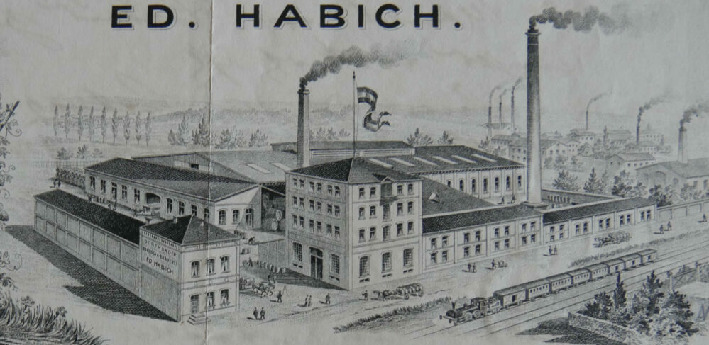 Die Borussia-Brauerei von Eduard Habich war der Vorgänger der Hansa-Brauerei (Slg. P. Nicolai, Dortmund)