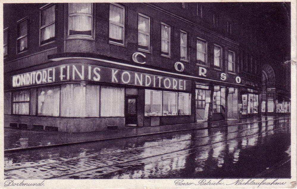 Hansa-Spezialausschank am Westenhellweg: die Corso-Betriebe (Slg. Klaus Winter)