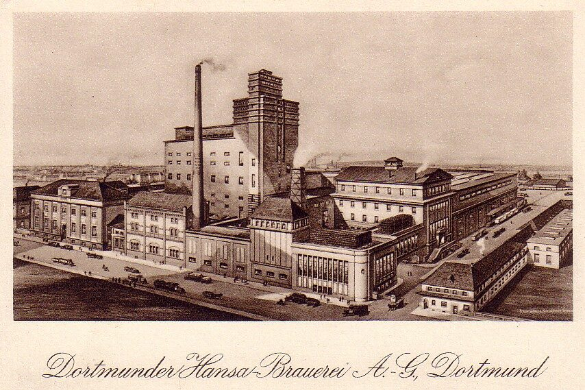 Hansa-Brauerei um 1930 (Slg. Klaus Winter)