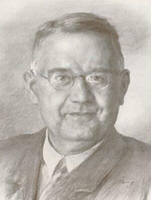 Direktor Theo Heller (Tille: 50 Jahre Dortmunder Hansa-Brauerei)