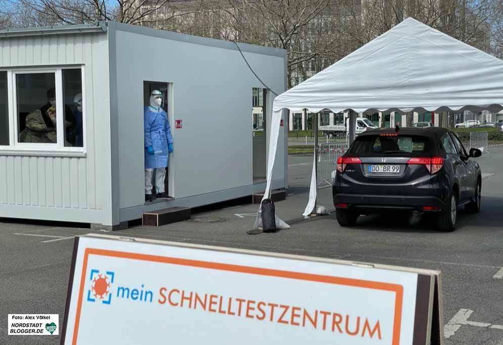 In Dortmund wird deutlich mehr gegen Corona geimpft und auf Covid-19 getestet. Foto: Alex Völkel