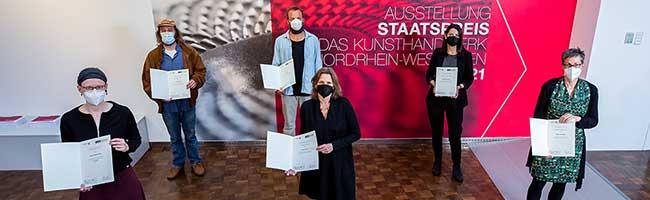 """Handwerk und Design auf höchstem Niveau: Der NRW-Staatspreis für das Kunsthandwerk """"MANUFACTUM 21"""""""