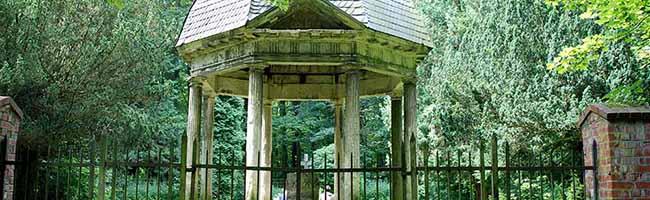 Der Tempel der Ruhe – ein klassizistisches Kleinod im Bodelschwingher Wald – Denkmal des Monats April 2021