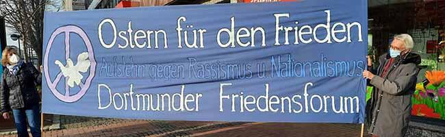 Im Einsatz gegen Aufrüstung, Krieg und Faschismus: Der Ostermarsch Rhein-Ruhr geht trotz Corona auf die Straßen