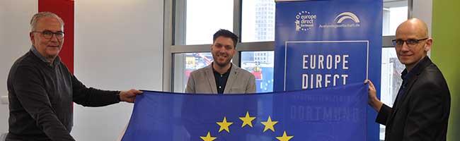 """Die EU vor Ort in Dortmund: """"Europe Direct-Zentrum"""" startet mit Social Media-Videoreihe in die Europawoche 2021"""