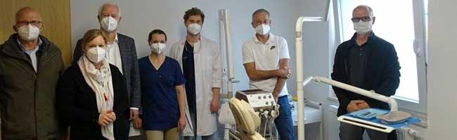 Großzügige Spende erleichtert den Ärzten die Arbeit bei der kostenlosen Zahnarztbehandlung im Gast-Haus