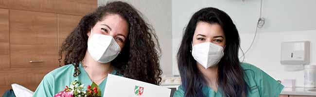 Sprachkenntnisse in der Praxis erworben – unbefristet eingestellt: Klinikum Dortmund hilft Hebammen aus Italien