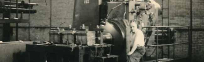 Maschinenfabrik Deutschland, Arbeitsplatz, undatiert (Slg. Klaus Winter)