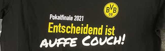"""""""Entscheidend ist auffe Couch!"""" Während Vorfreude auf DFB-Pokalfinale steigt, appellieren Stadt und Polizei an die Fans"""