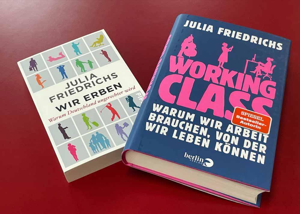 """""""Working Class"""" heißt das neue Buch von Julia Friedrichs. Wir haben mit ihr ein Interview geführt."""