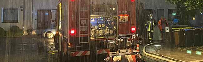 Nächtliches Unwetter über Dortmund: Tief Zero bescherte der Feuerwehr 365 Einsätze – 380 Retter*innen im Einsatz
