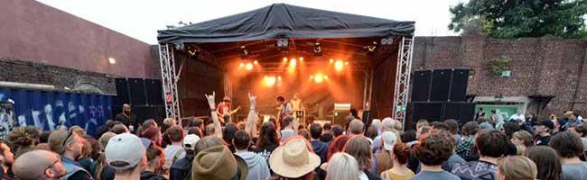 """""""domicil"""" rockt den """"Junkyard"""" Dortmund: Open Air-Konzerte von Jazz bis Pop auf der Sommerbühne in der Nordstadt"""