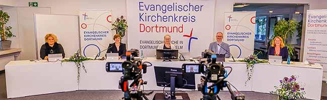 Evangelische Kirche braucht und hat Mut zu neuen Formen – die Kreissynode Dortmund traf sich digital zur Sommertagung