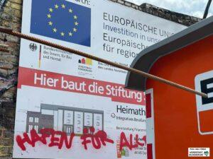 """""""Hafen für Alle"""" - beim Heimathafen ist das gegeben: Es ist ein inklusives und gemeinwohlorientiertes Projekt. Foto: Alex Völkel"""