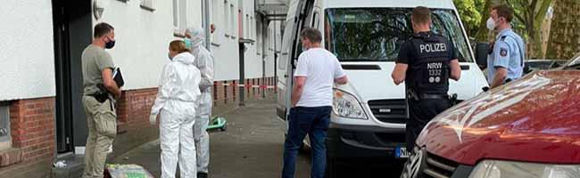 Tötungsdelikt: 24-Jähriger im Hausflur erstochen – Die Polizei Dortmund tappt bei Motiv und Täter(n) noch im Dunkeln